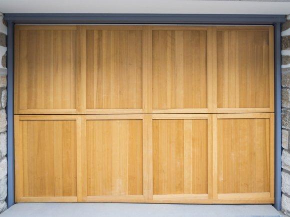 Wooden Garage Door Installation